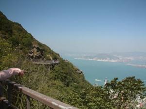 香港八景之一的<仙橋霧鎖>